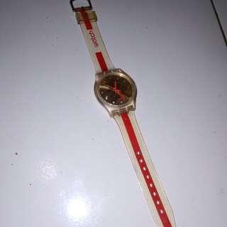 Jam swatch Original diameter besar kondisi normal