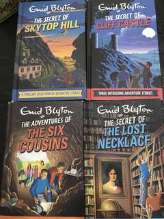 Enid Blyton Series (4 Titles available)