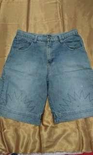 Sale celana pendek jeans pria