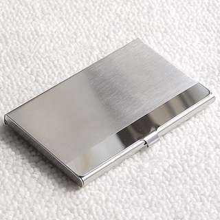 🚚 CLASSY Business Card Holder Stainless Steel Name Card Wallet (4 STYLES)