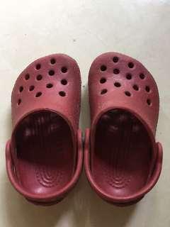Sandal crocs uk.4-5 original