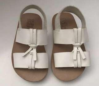 ZARA BABY White Sandal