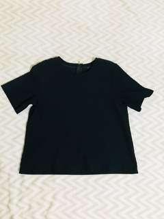 Top crop shirt