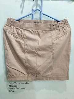 Grey Terranova skirt