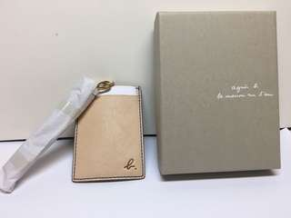 Agnes B Pass case 全新 正貨 (pink)