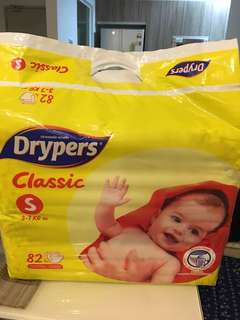 Drypers - S size diapers