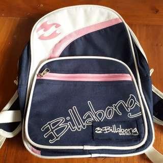 Billabong Backpack and Shoulder Bag