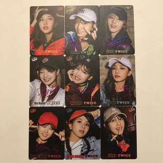 Twice Yes! Card 第37期 彩金銀 簽卡