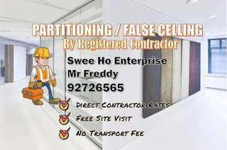 Partitioning/False Ceiling
