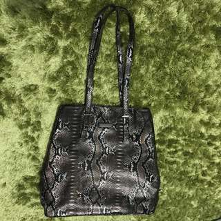 Mary Kay Snakeskin Tote Bag