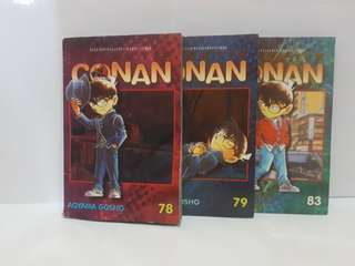 Detective Conan volume 78, 79, 83
