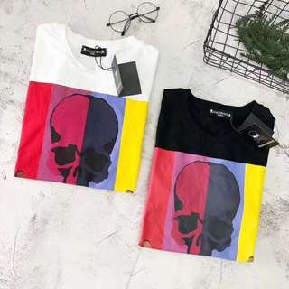 Mastermind japan tee in blk or white