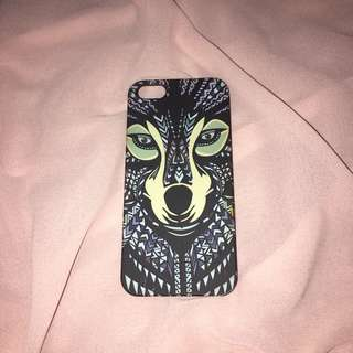 Animal indian glow in the dark iphone 5s case