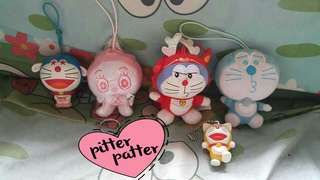Sold as set Doraemon Charms