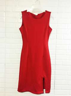 Shapes Red Dress