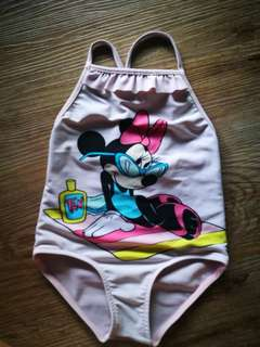 Zara Girl Minnie Mouse Swimsuit