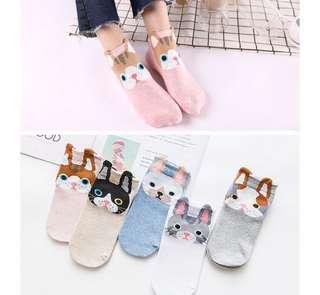 Animal design socks