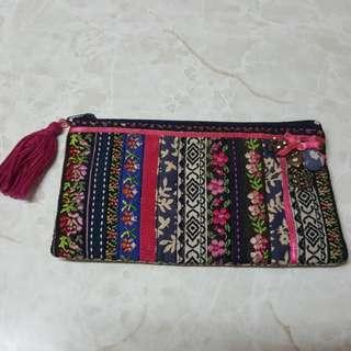 民族袋 (化妝/ 小物袋)