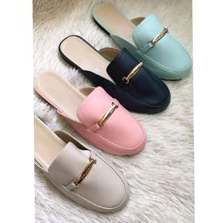 Candy Color Mules