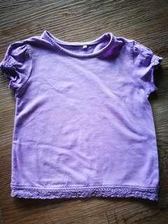 Tu Girl Lilac Top