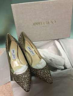 Jimmy Choo Romy 60 coarse glitter courts