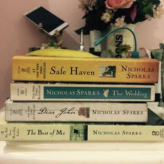Nicholas Sparks Book Package