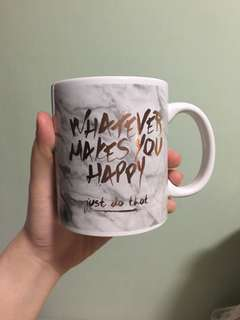 TYPO 'Whatever Makes You Happy, Just Do That' Mug