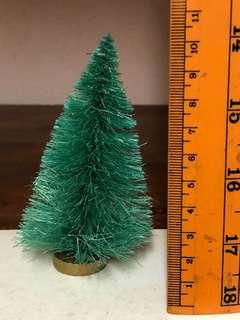 Miniature Christmas tree for miniature wood furniture displays