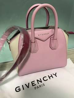100% new Givenchy Antigona mini leather shoulder bag