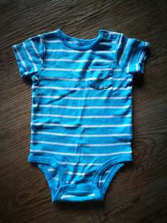 Carter's Light Blue Romper