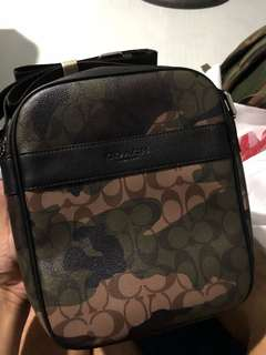 Coach Camouflage Sling bag