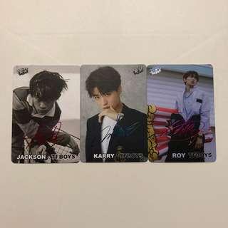 TFboy Yes! Card 第37期 彩金銀 簽卡