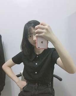 🚚 黑色襯衫