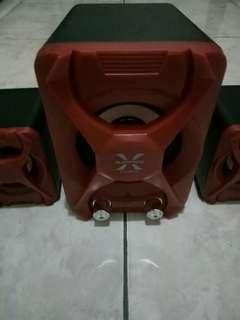 Alcatriz Speaker X-Audio ORI Garansi Subwoofer