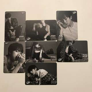 BTS Yes! Card 第37期 白色卡