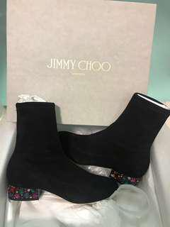 Jimmy choo boots Maisie 35 embellished heel boots