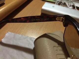 EFFECTOR DELAY II 眉架 玳瑁色 hand made 手製眼鏡