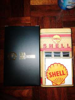 Shell Collectible Vintage Tin 1950