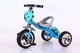 Blue Beatle Todlers Bicycle with Music 3 Wheel Bike