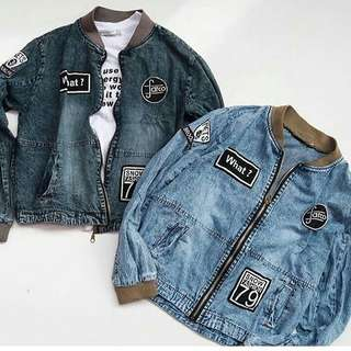 Farco Bomber Jaket Jeans
