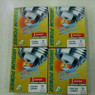 Brand new Denso Iridium Power spark plug Set of 4 pieces  IU24 / IU27 / IUH24 / IUH27
