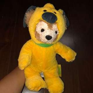 🚚 上海迪士尼 布魯托達菲熊