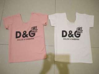 Dolce and Gabanna Tops