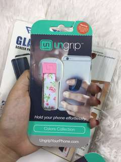 Ungrip phone grip for Iphone Samsung Oppo Vivo Huawei