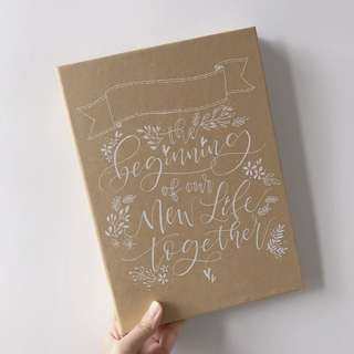 客製相冊 Calligraphy Photo Album