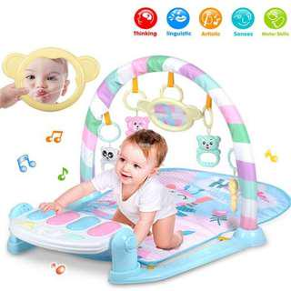 ⚡️FLASH SALE⚡️ Baby Toddler Colourful Musical Play Gym Play Mat