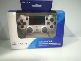 Ps4  Dualshock Second(2nd) Generation Controller Silver