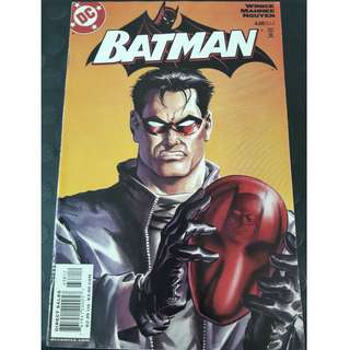 Batman #638 2nd Printing (Red Hood identity revealed.)