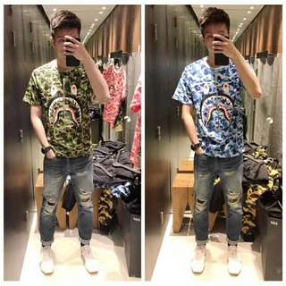 Bape tee in 3 colors