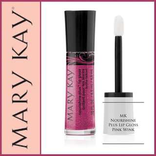 Moisturising Lip Gloss in Pink Wink
